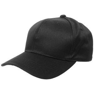 MFH cappellino da baseball in nero