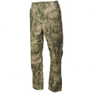 MFH pantaloni da combattimento BDU in Ripstop HDT Camo FG