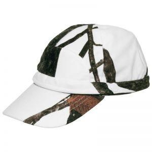 MFH cappello da cacciatore con banda fluorescente in Hunter Snow