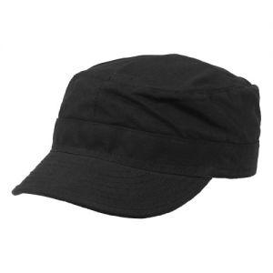 MFH berretto da campo BDU in Ripstop nero