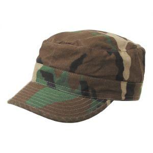 MFH berretto da campo BDU in Ripstop Woodland