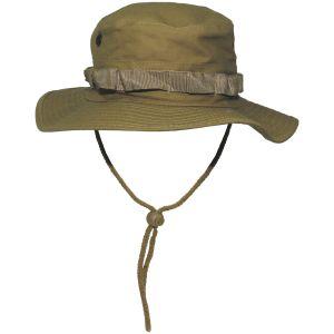 MFH cappello boonie GI in Ripstop Coyote