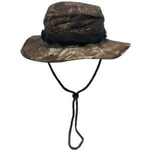 MFH cappello boonie GI in Ripstop Hunter marrone