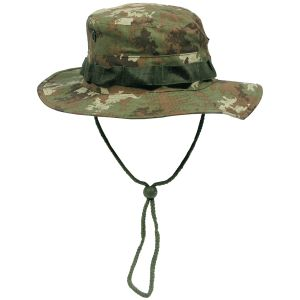MFH cappello boonie GI in Ripstop Vegetato Woodland