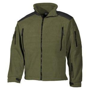 MFH giacca in pile Heavy Strike in OD Green