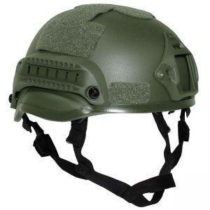 "MFH casco US ""MICH 2002"" in verde oliva"