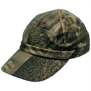 MFH cappello da cacciatore con banda fluorescente in marrone Hunter