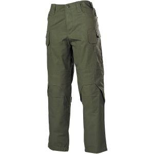MFH pantaloni Mission da combattimento in Ripstop in OD Green
