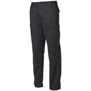 MFH pantaloni BDU da combattimento in Ripstop nero