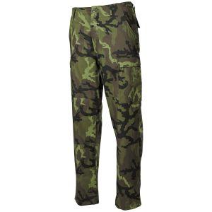 MFH pantaloni BDU da combattimento in Ripstop Czech Woodland