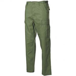 MFH pantaloni BDU da combattimento in Ripstop verde oliva