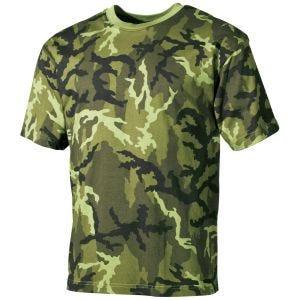 MFH T-shirt in Czech Woodland