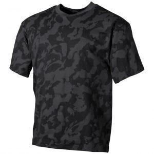 MFH T-shirt in Night Camo