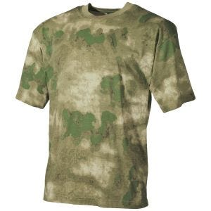 MFH T-shirt in HDT Camo FG
