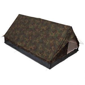 MFH tenda Minipack per 2 persone con zanzariera in Woodland
