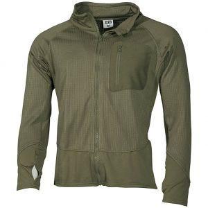 MFH giacca tattica softshell US in verde oliva