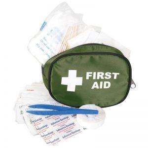 Mil-Com kit di primo soccorso da viaggio small in verde oliva