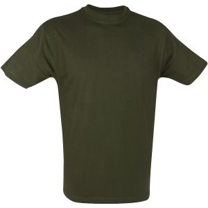 Mil-com T-shirt in Olive Green
