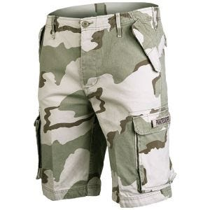 Mil-Tec shorts cargo da paracadutista prelavati in Desert 3 Colori