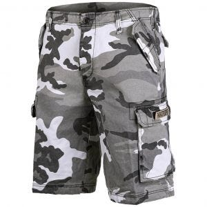 Mil-Tec shorts cargo da paracadutista prelavati in Urban