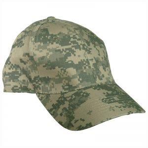 Mil-Tec cappellino da baseball con fascia in plastica in Ripstop ACU Digital