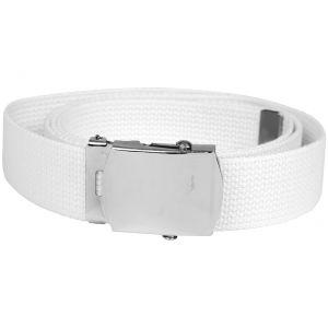 Mil-Tec cintura in tessuto bianco