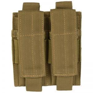 Mil-Tec doppio portacaricatore per pistola in Coyote
