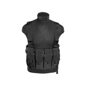 Mil-Tec Chest Rig portacaricatore in nero