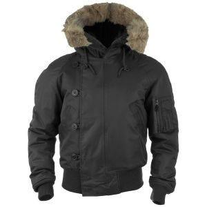 Mil-Tec giacca da pilota N-2B in nero