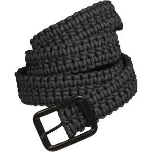 Mil-Tec cintura Paracord in nero