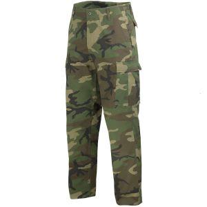 Mil-Tec pantaloni da combattimento Ranger BDU in Woodland
