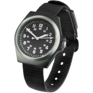 Mil-Tec orologio US Style Army in acciaio inox spento