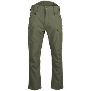 Mil-Tec pantaloni da assalto SoftShell in Ranger Green