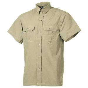 Fox Outdoor camicia outdoor a maniche corte in cachi