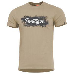Pentagon T-Shirt Ageron Grunge in Khaki