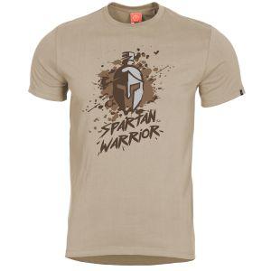 Pentagon T-Shirt Ageron Spartan Warrior in Khaki