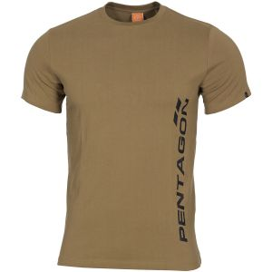 Pentagon T-shirt Ageron Pentagon Vertical in Coyote
