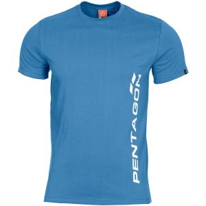 Pentagon T-shirt Ageron Pentagon Vertical in Pacific Blue