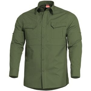 Pentagon camicia tattica Plato in Camo Green