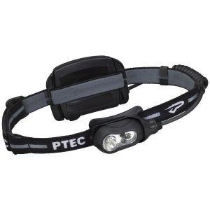 Princeton Tec torcia da testa Remix ricaricabile LED bianco e struttura in nero