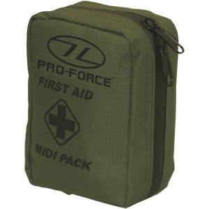 Pro-Force astuccio modulare di primo soccorso medium in verde oliva