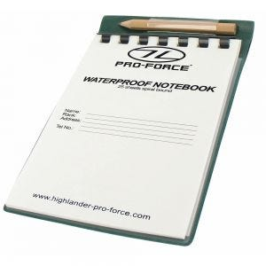 Pro-Force block notes impermeabile