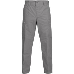 Propper pantaloni BDU con patta a bottoni in policotone Ripstop in grigio