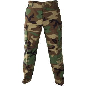 Propper pantaloni Uniform BDU in policotone ripstop in Woodland