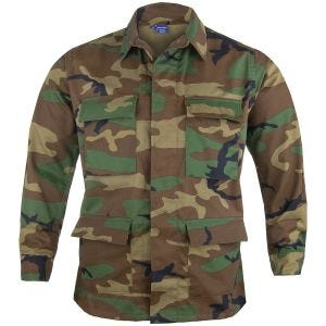 Propper giacca BDU in twill di policotone in Woodland