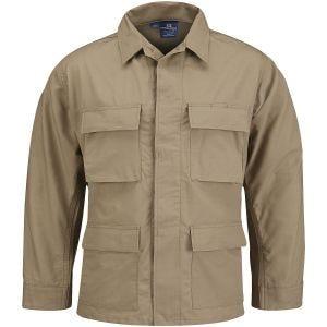 Propper giacca BDU Uniform in policotone RipStop cachi