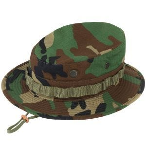 Propper cappello jungle hat in cotone Ripstop in Woodland
