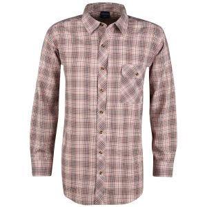 Propper camicia a maniche lunghe con chiusura a bottoni Covert in Barn Red Plaid