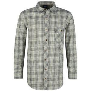 Propper camicia a maniche lunghe con chiusura a bottoni Covert in Loden Green Plaid