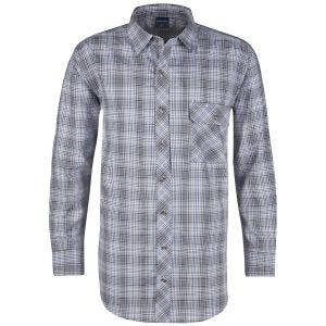 Propper camicia a maniche lunghe con chiusura a bottoni Covert in Ocean Blue Plaid